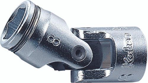 "Koken 2441M-13 | 1/4"" Sq. Drive, Nut Grip Universal Socket"