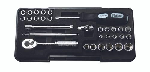 "Koken P2258M | 1/4"" Sq. Drive, Socket set"