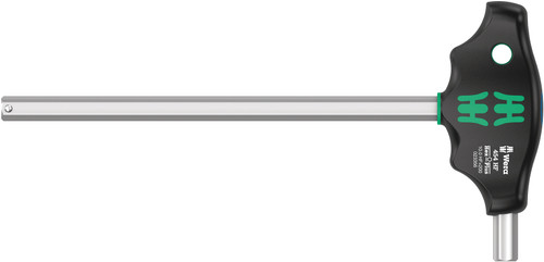 Wera 454 Hex-Plus HF 10 x 200 mm T-Handle Hex driver with Holding Function 05023355001