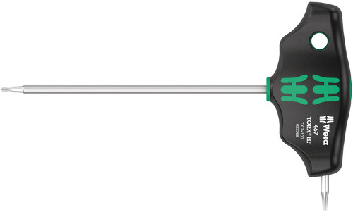 Wera 467 TX HF 7 x 100 mm T-Handle Torx driver with Holding Function 05023368001