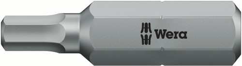 Wera 840/2 Z HEX-PLUS SW 6 X 100 MM BITS FOR HEX SOCKET SCREWS 05057572001