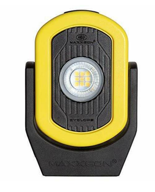 Maxxeon WorkStar 812 HiVis Yellow, Cyclops USB LED Work Light
