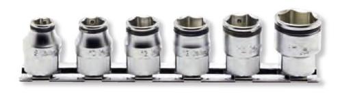 Koken RS3450MH/6 | 3/8 Sq. Drive, Nut Grip Socket Set Nut Grip