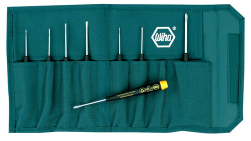 Wiha 27399, Precision ESD Safe Slotted/Phillips Set
