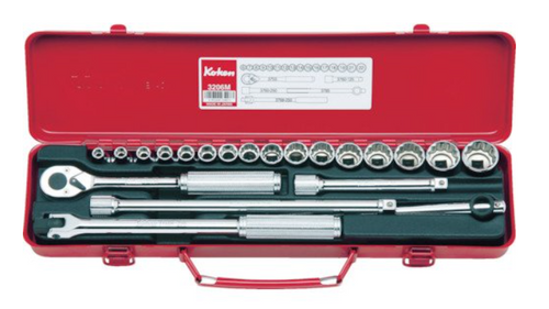 """Koken 3206M Socket Wrench Set 9.5mm (3/8"""")"""