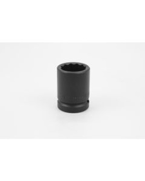 """SK Tools - 1-1/16"""" 3/4"""" Drive 12 Point Standard Fractional Thin Wall Impact Socket - 35434"""