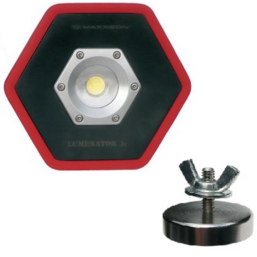 Maxxeon WorkStar 5200 Jr. Lumenator LED Work Light with Magnet