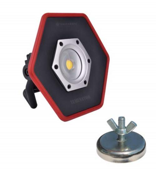 Maxxeon WorkStar 5000 Lumenator LED Work Light with Magnet