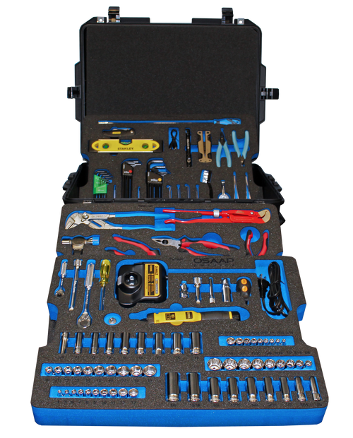 Hospital Bed Maintenance Kit - Tool Assortment Set in Foam PM-MED-3002-00-C