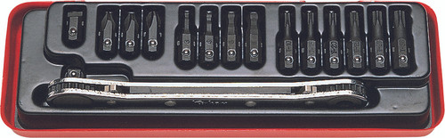 "Koken 1202 | 1/4"" Ratcheting Wrench Bit Set"