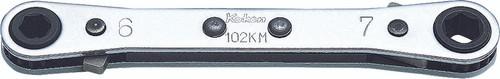 Koken 102KA-3/8X7/16 |  Ratcheting Ring Wrench Reversible