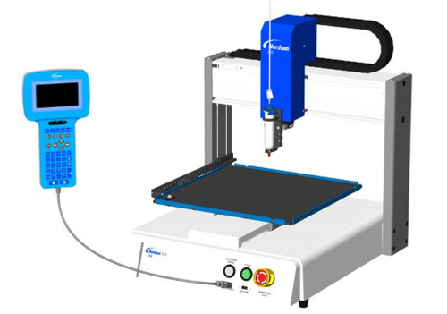 Nordson EFD 3-Axis E4:  Automated Fluid Dispensing Robot