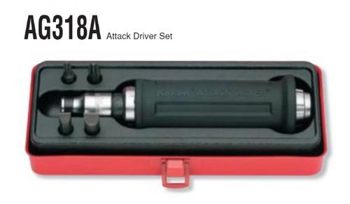 Koken AG318A - Hand Impact Driver Set