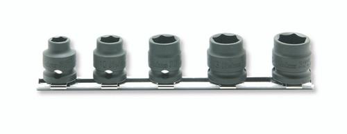 "Koken RS13401MS/5   3/8"" Sq. Drive Socket Set on Rail"