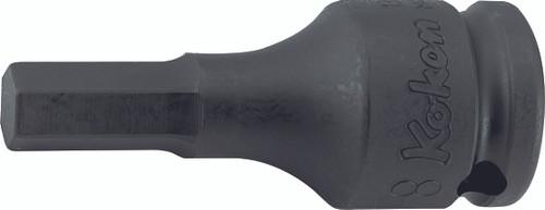"""Koken 13012M.52-6   3/8"""" Sq. Drive Inhex Sockets"""