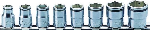 "KOKEN NUT GRIPPER RS3450M/8 | 3/8"" Square Drive | 6-Point - 8 Piece Nut Gripper Socket Set"