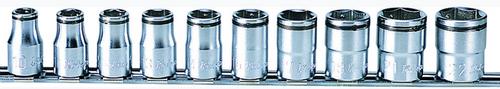"Koken RS4450M/10 | Nut Gripper 1/2"" Square Drive Socket Set | 6 Point | Qty 10"
