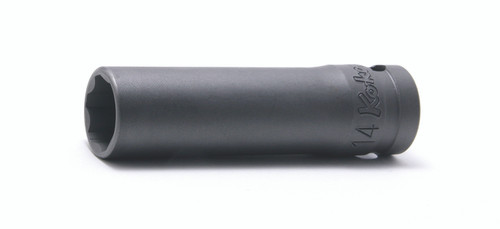 "Koken 24310M-15 | 1/2"" Sq. Drive Surface Drive Sockets, Deep"