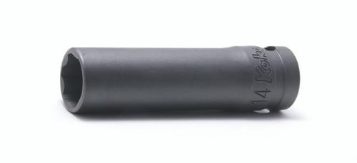 "Koken 24310M-18 | 1/2"" Sq. Drive Surface Drive Sockets, Deep"