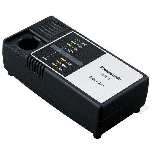 Panasonic Charger for Panasonic Li-ion & Ni-MH Batteries 2.4V - 3.6V