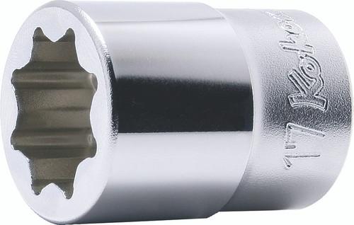 "Koken 4109M-17 | 1/2"" Sq. Drive Double Square Sockets"