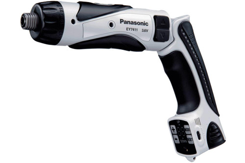 Panasonic 3.6V Screwdriver with counter Kit 1 - 1.5Ah Li-ion Battery Pack, 1 Charger
