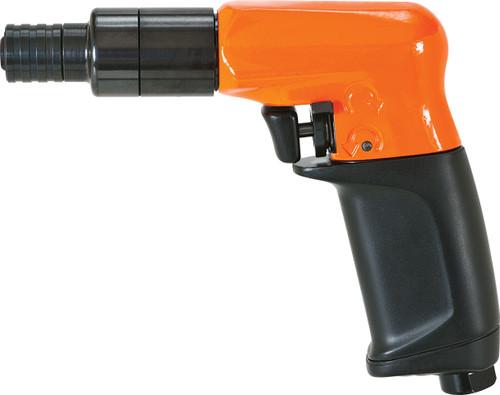 Cleco Pneumatic Pistol Grip Screwdriver, Trigger Start - 19PTS04Q   Torque Range 0 - 3.3 ft.lbs