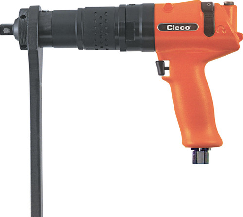 Cleco Pneumatic Pistol Grip Swingbar Trigger Start Reversible Nutrunner 64TTS205D6 | Torque Range 113 - 151 ft.lbs