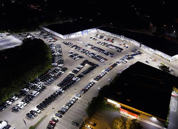 LightMart LEDs Light Up the Lot at a Chevrolet Dealership