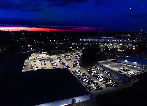 LightMart Lighting at Sundown