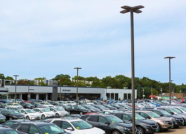 Subaru Light Poles