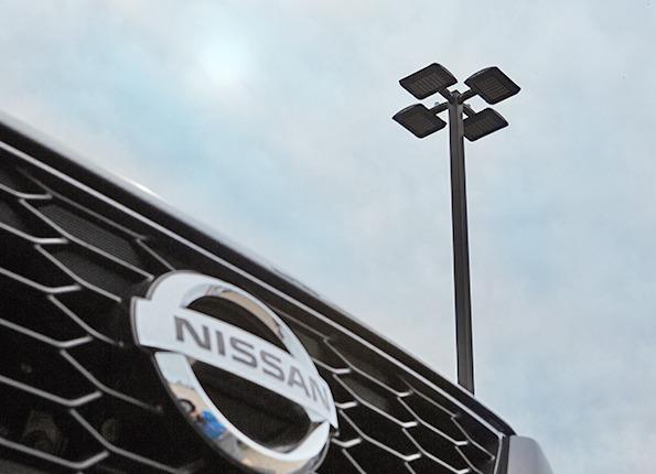 Nissan Car with LightMart Lights
