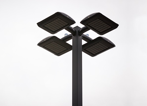 LightMart Pole Kit with Photocells Installed