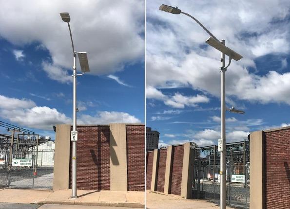 LightMart Street Light Pole and LED Lighting Kit