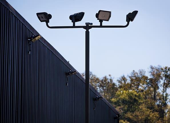 LightMart Pole and Bullhorn with LED Lights