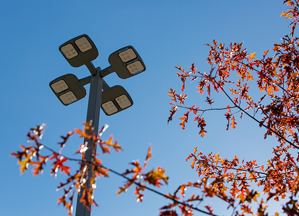 LightMart 4†Square Steel Pole with 4 LED Lights in Alabama