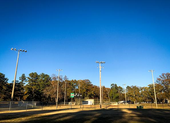 LightMart Sports Lights and Brackets at an Alabama Sport Complex
