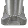 Aluminum Pole 20A4RT125 Base View