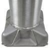 Aluminum Pole 40A10RT2192M6 Base View