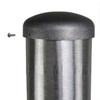 Aluminum Pole 35A8RT2501M8 Cap Attached