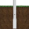 Aluminum Pole 35A10RT312DB Flattened View