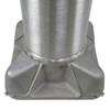 Aluminum Pole 40A10RT250 Base View