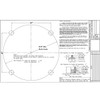Steel Square Pole 547103 Included Template