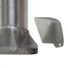 Aluminum Pole H40A10RS250 Cover Unattached