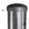 Aluminum Pole H40A10RS250 Cap Attached