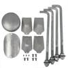 Aluminum Pole 20A6RT156 Included Comopnents