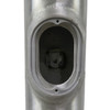 Aluminum Pole 25A6RT156 Access Panel Hole