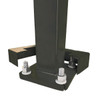 Square Steel Pole QS15S4SQ125 Open Base View