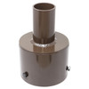 Tenon Adapter for 5 Inch Round Poles - Thumbnail