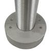 Aluminum round pole 10A5RSH125 closed view